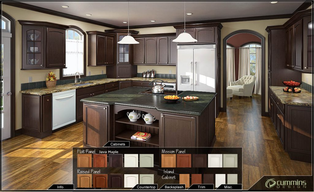 Custom Kitchen. Digitally Designed - Cummins Design